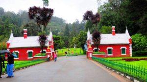 ooty botinical garden entrance fees