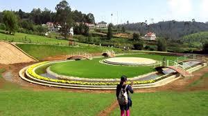 Ooty Karnataka Siri Horticulture Garden sight seeing